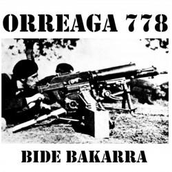 """LP. Orreaga 778 """"Bide bakarra"""""""
