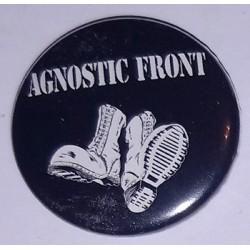 Przypinka. Agnostic Front