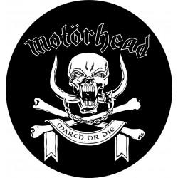 Przypinka. Motorhead March...