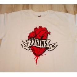 T-shirts. 77 Sins - serce