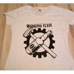 Damskie. Working Class - biała