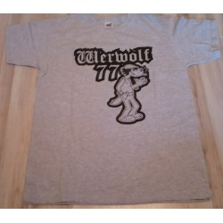 T-shirt. Werwolf 77 - Wilk
