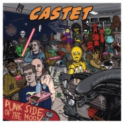 """CD. Castet """"Punk side of..."""