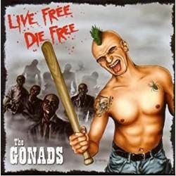 "CD. The Gonads ""Live free,..."