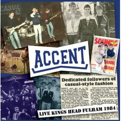 "CD. Accent ""Live Kings Head..."