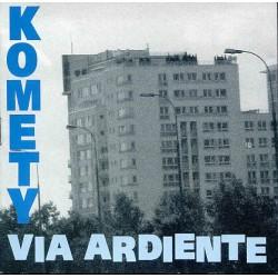 """CD. Komety """"Via Ardiente"""""""